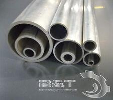 Alurohr aus AlMgSi0,5 Aluminium Rohr Alu Rohre Aluprofil Rundrohr Länge wählbar