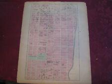 Rare 1867 Upper East Side New York City Nyc Map Atlas