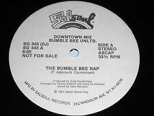 "Bumble Bee Unltd.: The Bumble Bee Rap 12"""