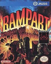Rampart (Nintendo Entertainment System, 1992) Game Only Nice Shape Nes Hq