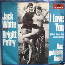 "7"" CV F. Sinatra JACK WHITE / BRIGITT PETRY I Love You"