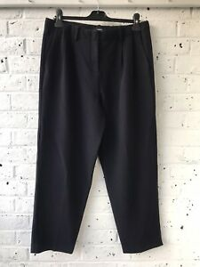 THEORY Womens Trousers- Blue- Size US 10 UK 12- Excellent Condition