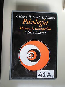 PSICOLOGIA DIZIONARIO ENCICLOPEDICO (41 A)
