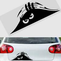Red Eyes Peeper Creative Funny Car Bumper Window Decal Decor Sticker DIY J6K0