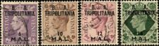 Tripolitania 1950 British Occupation - Part Set of 4 Values  SG.T19/T22  Used
