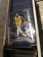 2019-20 Prizm Basketball LeBron James Base Card #129 Lakers