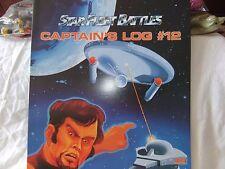 Task Force Game, Star Fleet Battles Captain's Log #12,  New Old Stock
