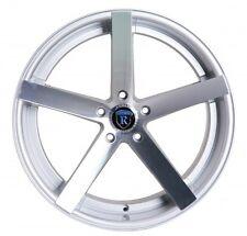 RC22 19x8.5 5x120 ET33 Machine Silver Wheels Rims Fit BMW 6 SERIES 640
