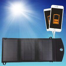 10 W 3-Pliable Double USB Panneau Solaire Batterie Chargeur pour PC portable téléphone F7