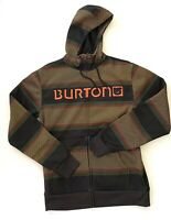 Burton Dryride Colorful Hoodie Outdoors Pullover Sweater Mens Size Small