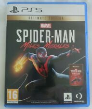 New listing Spiderman Miles Morales Ultimate Edition PS5