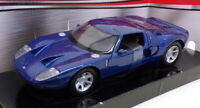 Motor Max 1/24 Scale Model Car 73297 - Ford GT Concept - Metallic Blue