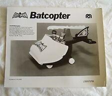 VINTAGE 1970's MEGO WGSH B&W SALESMAN SALES SAMPLE PHOTO PRINT BATMAN BATCOPTER