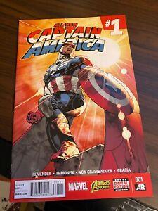 All New Captain America #1 Sam Wilson Falcon & The Winter Soldier Disney + 2015