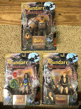 "2003 ""THUNDARR THE BARBARIAN ACTION FIGURE COLLECTION', BY TOYNAMI.  MOB/FACTORY"