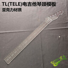 Electric Guitar neck Transparent Acrylic Template Making Molds TELE style