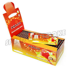 1 Box 78*44MM PEACH Flavored Cigarette Smoking Rolling Paper 2500 Papers
