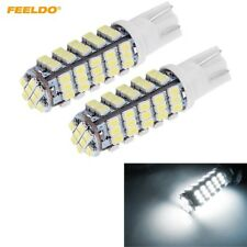 2 x - 921 T15 T10 194 168 with 68 smd Backup Reverse led light bulbs - White