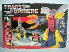 K1605112 OMEGA SUPREME 100% COMPLETE IN BOX MIB STYLE TRANSFORMERS G1 ORIGINAL