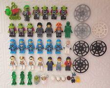 Original LEGO Minifigures Mini Fig SPACE Mars Mission Aliens Astronauts LOT