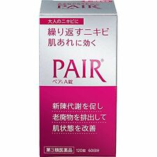 pair A 120 tablets for Acne, rough skin Skin Care New from Japan F/S w/Tracking