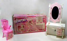 Barbie Light up Vanity Mattel 5847 Dream Superstar Specchiera - Vintage RARA