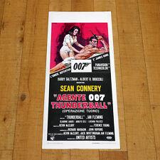 AGENTE 007 THUNDERBALL locandina poster Sean Connery Claudine Auger Spy K69