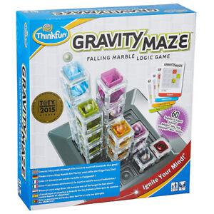 ThinkFun Gravity Maze - Marble Logic Game