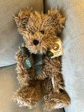 "Boyds Bear Plush Bear Gomer Q. Beanster 15"" Brown Bear Soft Toy Stuffed Animal"