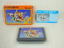 80ea5c9c394e6 HYPER SPORTS Item Ref/bcb Famicom Nintendo Konami Japan Boxed Game fc