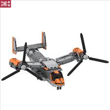 MOC Bell-Boeing V-22 Osprey Konstruktionsspielzeug Bausteine Montagespielzeug