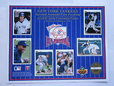 NY Yankees Limited Edition Print Upper Deck Collector Series 2nd Annual Fan Fest