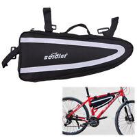 Große Fahrradtasche Bike Storage Frontrahmen Tube Triangle Bag Radfahren