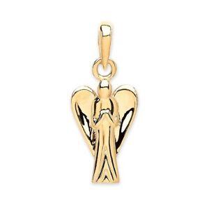 Angel 9ct Gold Praying Guardian  Pendant/Charm 1.2 grams  - Boxed
