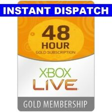 Xbox Live Gold Trial 48 Hours 2 Days 48HR Key Code | 360 ONE | INSTANT DISPATCH
