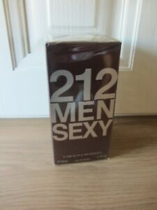 Carolina Herrera 212 Men Sexy Eau de Toilette 50ml Spray For Him - NEW
