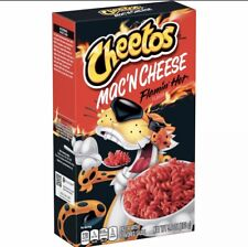 New Cheetos Mac 'N Cheese Flamin' Hot Flavor 5.6 Oz Box Free World Shipping