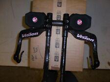Vision Trimax Vector Aero bar/TT/Triathlon/Time Trial/Carbon Handle bars/ Bike
