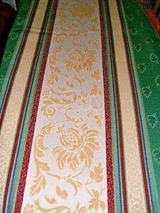 Elegante Schabracke, mehrfarbig, 2,48 cm, handgenäht, Schweden