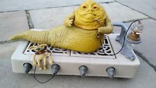 KENNER 1983 Star Wars ROTJ Jabba the Hutt Action Playset Complete Figures Vintag