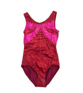 Balera Sleeveless Leotard Body Suit Gymnastics Adult Size S (SA) One Piece