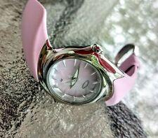 Oakley Crush Polished Pink Women's Watch/Silver/MOP/Unobtainium/Date!