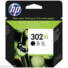 HP NO 302xl Negro Original OEM Alta Capacidad Cartucho de Tinta F6U68AE