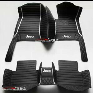 For Jeep-Cherokee--Compass-Grand CherokeeWranglerCar Floor Mats-Right-hand drive