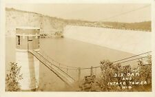 1924-1949 Real Photo PC; Dix Dam and Intake Tower H-4, Mercer/ Garrard County WY