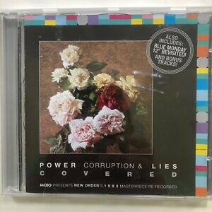 Mojo CD (Feb 2012): Power, Corruption & Lies Covered. 1983's New Order's Masterp
