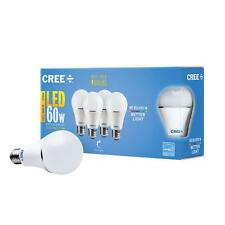 16 - Pk Cree LED 9.5 watt = 60 w Soft White (2700K) A19 Dimmable LED Light Bulb