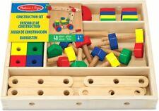 Melissa & Doug CONSTRUCTION SET Baby/Toddler/Child Wooden Toys Vehicles BN