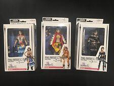 Final Fantasy X-2 Play Arts Action Figure Set - Yuna, Rikku, & Paine - Sealed!