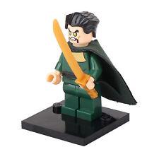Ra's Al Ghul Green Arrow TV Show minifigure Custom movie DC Villain toy